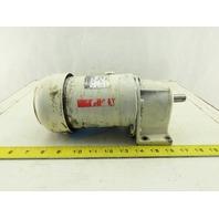Eberhard Bauer G052-10/D044-141L 23.76:1 Ratio 16.5 RPM 230/400V 50Hz Gear Motor