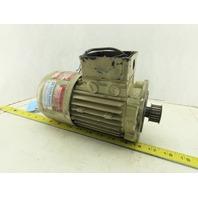 Robert Stahlschmidt BD6R6L/04D 0.12kW 277/480V 50/60Hz C-Face Motor