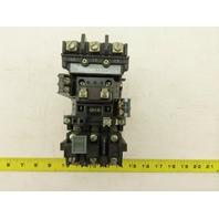 Allen Bradley 509-B0D 600V 27A Size 1 Contactor Motor Starter Overload 115V Coil