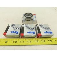 "Koyo EE9S2RSC3 1"" ID x 2"" OD Single Row Radial Bearing Lot OF 4"