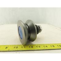 """Osborn VLR-3-1/2 V Groove Concentric Stud Load Runner 3-1/2"""" OD 7/8"""" Stud"""