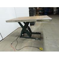 "Southworth LS4-36 4000Lb Hydraulic Scissor Lift 72""x 48"" Table 115V Single Phase"