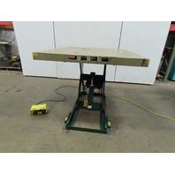 "Southworth LS2-36 2000Lb Hydraulic Scissor Lift  54x48"" Table 115V Single Phase"