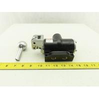 ARO K513LM-G 5/3 Position Closed Center Manual Air Valve Broken Handle
