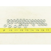 8.5mm Nord Lock Style Vibration Proof Wedge Locking Washer Lot Of 35