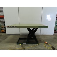 "Southworth LS4-36 4000Lb Hydraulic Scissor Lift 72""x 42"" Table 115V Single Phase"