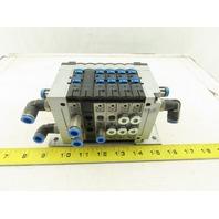 Festo CPV14-VI Pneumatic Valve Terminal 5/2 Position 24V 4 Valve