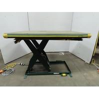 "Southworth LS2-36 2000Lb Hydraulic Scissor Lift 60x42"" Table  115V Single Phase"