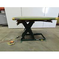 "Southworth LS4-36 4000Lb Hydraulic Scissor Lift 60x42"" Table  115V Single Phase"