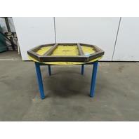"44""x44"" Pallet/Box /Basket Material Handling 360° Turn Table 29"" High"