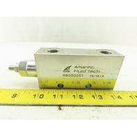 "Atlantic Fluid Tech MB000051 Modular Hydraulic Flow Control Valve G3/8"""