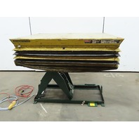 "Southworth LS2-36 2000Lb Hydraulic Scissor Lift 65x48"" Table  115V Single Phase"