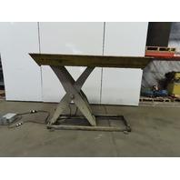 """Southworth LS4-48 4000Lb Hydraulic Scissor Lift 78""""x42"""" Table 208-230/460V 3Ph"""