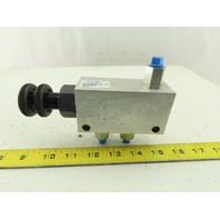 Eaton 407AA00314A Hydraulic Flow Control Valve With Return 1/4""