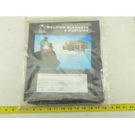"""Steiner 336 24""""x7' Flame Retardant Vinyl Laminated Polyester Welding Curtain"""