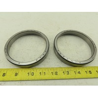 """Timken 394A  2.6250"""" Bore Tapered Caged Roller Bearing Cone Lot of 2"""