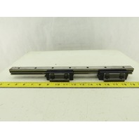 """IKO LWH25 25mm Profile Linear Guide Rail And Bearings 16-3/8"""""""