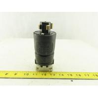 Hubbell 21415B Hubblelock 600 VAC 250 VDC 3P 4W Locking Plug