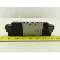 "Festo CPE18-M2H-5/3BS-1/4"" Pneumatic Double Solenoid Valve"