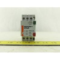 SPRECHER SCHUH KTA325-0.4A Manual Motor Starter 0.25-0.40A