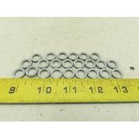 "3/8"" Nord Lock Style Vibration Proof Wedge Locking Washer Lot Of 24"
