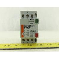 SPRECHER SCHUH KTA3-25-2.5A Manual Motor Starter 1.6-2.5A