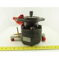 Parker M2B-90249-0-3 Hydraulic Motor 22mm 13T Spline Gear Shaft
