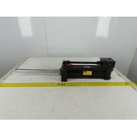 """Parker JJ2HXLTS13A 3-1/4"""" Bore 12"""" Stroke  16"""" Extended Shaft Hydraulic Cylinder"""