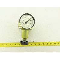 "DRF.31S Precision Pressure Regulator 1/4"" NPT 0-1 Bar"