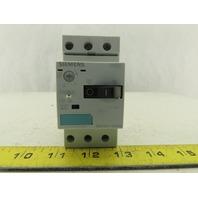 Siemens 3RV1011-1AA10 600V 20A 1.1-1.6A Trip Manual Motor Starter Breaker