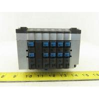 Festo CPV-14-VI Pneumatic Manifold Assembly W/6 Solenoid Valves 161 362