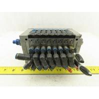 Festo CPV-14-VI Pneumatic Manifold Assembly W/8 Solenoid Valves 161 362