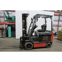 "Toyota 8FBCU32 Electric Forklift Truck 48V Sideshift 187"" Lift 6500lbs Cap"