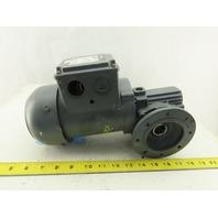 Bauer BS03-34H/D05LA4 25:1 Ratio 54RPM 0.18kW 60Hz 400V Right Angle Gearmotor