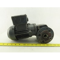 Bauer SG1-34/DK54-143L 40:1 Ratio 40RPM 0.11kW 60Hz 400V Right Angle Gearmotor