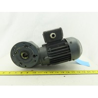 Bauer SG1-34/DK64-163L 40:1 Ratio 40RPM 110W 60Hz 400V Right Angle Gearmotor