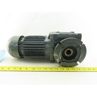 Bauer BS06-34V/D07LA4/SP 64.06:1 Ratio 25.5RPM 0.3kW 3Ph 400V 60Hz Gear Motor