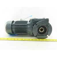 Bauer BS06-34V/D07LA4/SP 64.06:1 Ratio 25.5RPM 0.3kW 3Ph 230-400V 60Hz Gearmotor