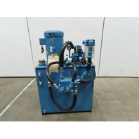10 Hp 45 Gallon Hydraulic Power Unit 230/460V 3 PH W/Vickers 1F13S11S 1CC30