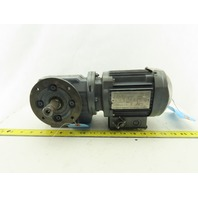 Sew Eurodrive SF37DR63L4 37.66:1 Ratio 42RPM 0.25kW 240/480V 50/60Hz Gearmotor