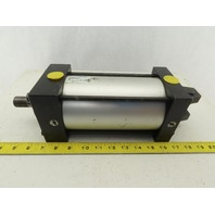 "Numatics RJ-510201-1 4"" Bore 5-1/2"" Stroke Double Acting  Air Cylinder"