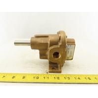 "Oberdorfer OBN4000S3 Bronze Rotary Gear Pump 9GPM 1/2NPT  5/8"" Shaft"