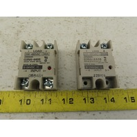 Omron G3NA-110B 4-24VDC Solid State Relay 200-480V 40A Lot Of 2