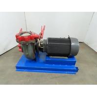 Carver Pump 6X5X10BHA-31F-20 20HP Horizontal End-Suction 690GPM 208-230/460V 3Ph