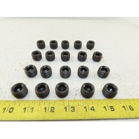 "3/4-10 Full Thread 5/8"" Hex Drive Cup Point Set Screw Black Oxide Lot OF 20"