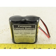 Panasonic Comp-164 6V Lithium Battery Replaces BR-CCF2TE