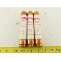 Shawmut TRS40R Time Delay Fuse 40A 600V Lot of 3