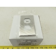 Mulberry 93101 Stainless Steel 1 Single Gang Laboratory Outlet Cover Lot Of 25