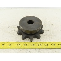 "Tsubaki 100B11 5"" OD 11 Tooth Plane Stock Bore Chain Sprocket For 100 ANSI"