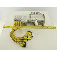 SMC EX250 DeviceNet Input Pneumatic Valve Logic Module 24VDC